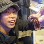 深海の巨大ダンゴ虫?「オオグソクムシ」を食す!