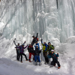氷瀑・氷柱・氷の神殿!見渡せばすべて絶景!雲竜渓谷トレッキングツアー