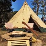 薪、割ったことある?焚き火の次は薪割りだ!若洲公園キャンプ場で「薪割クラブ」開催!